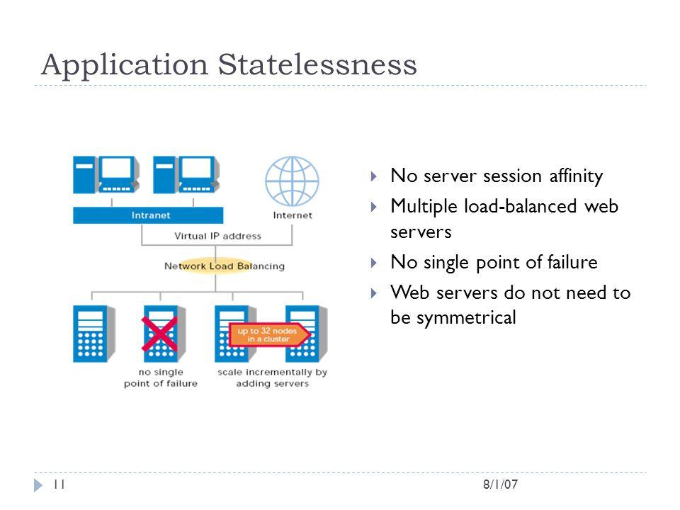 Application Statelessness