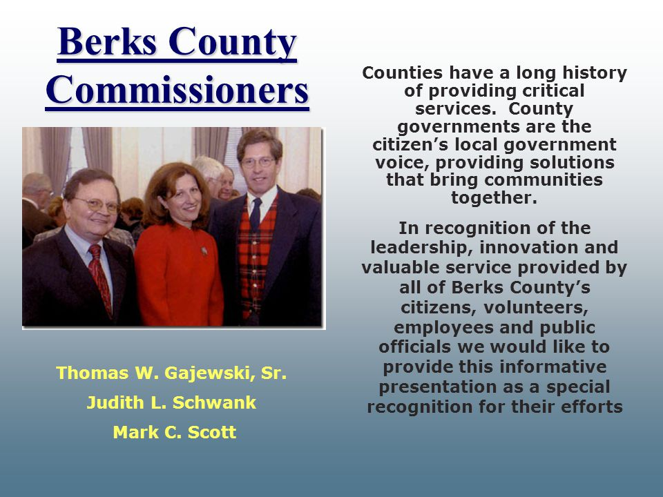 Berks County Commissioners