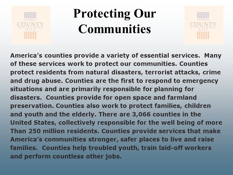 Protecting Our Communities
