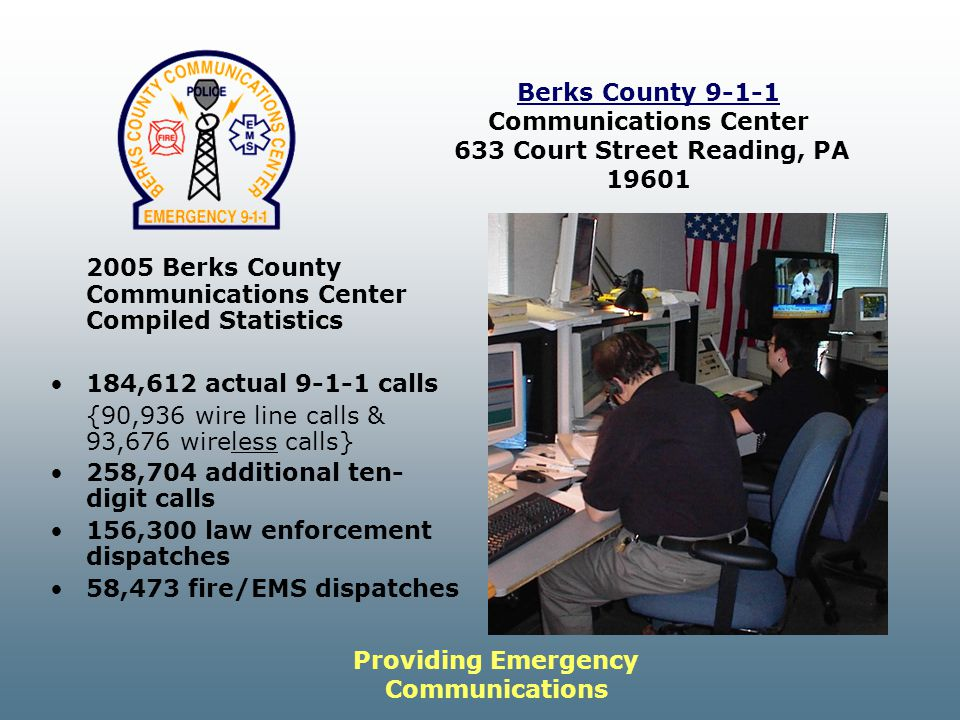 Providing Emergency Communications