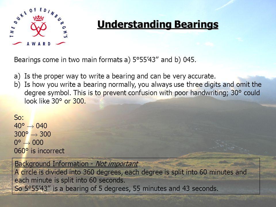 Understanding Bearings