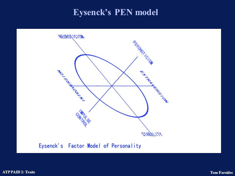 Eysenck's PEN model