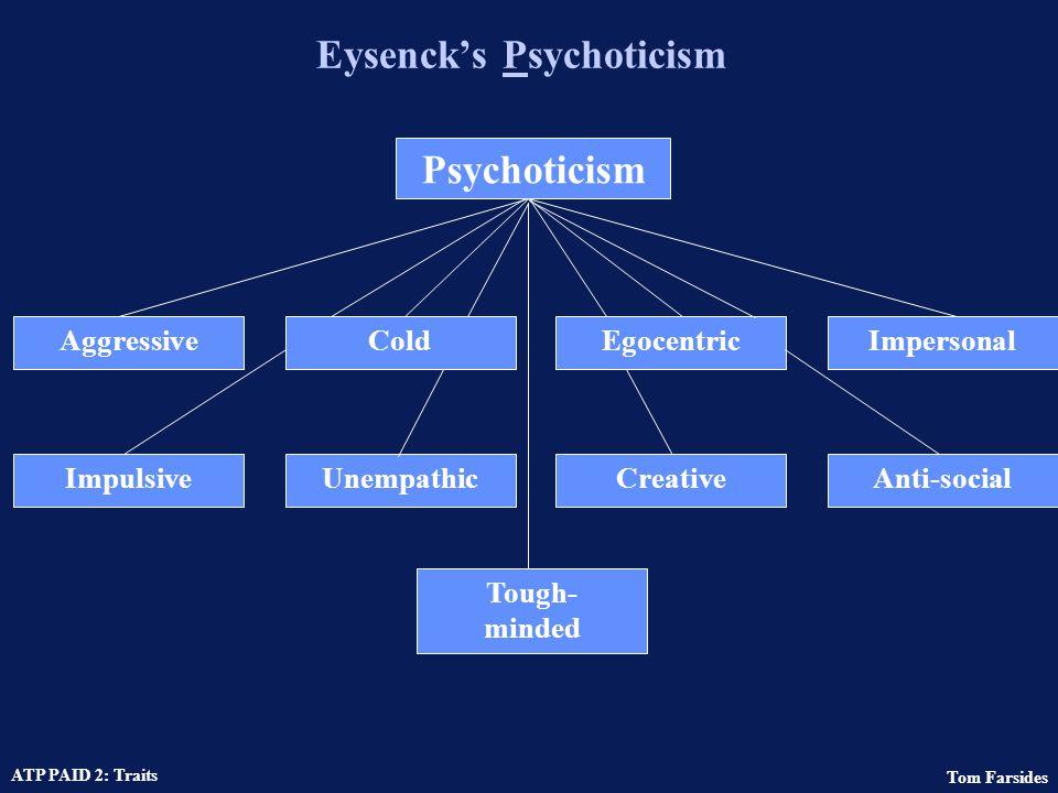 Eysenck's Psychoticism