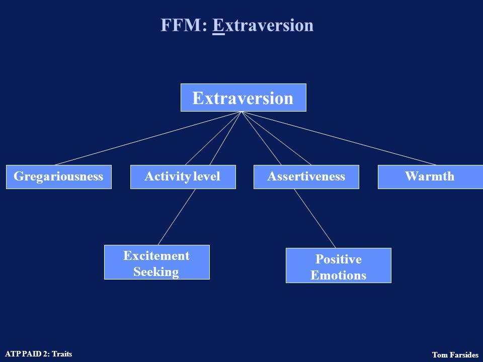 FFM: Extraversion Extraversion