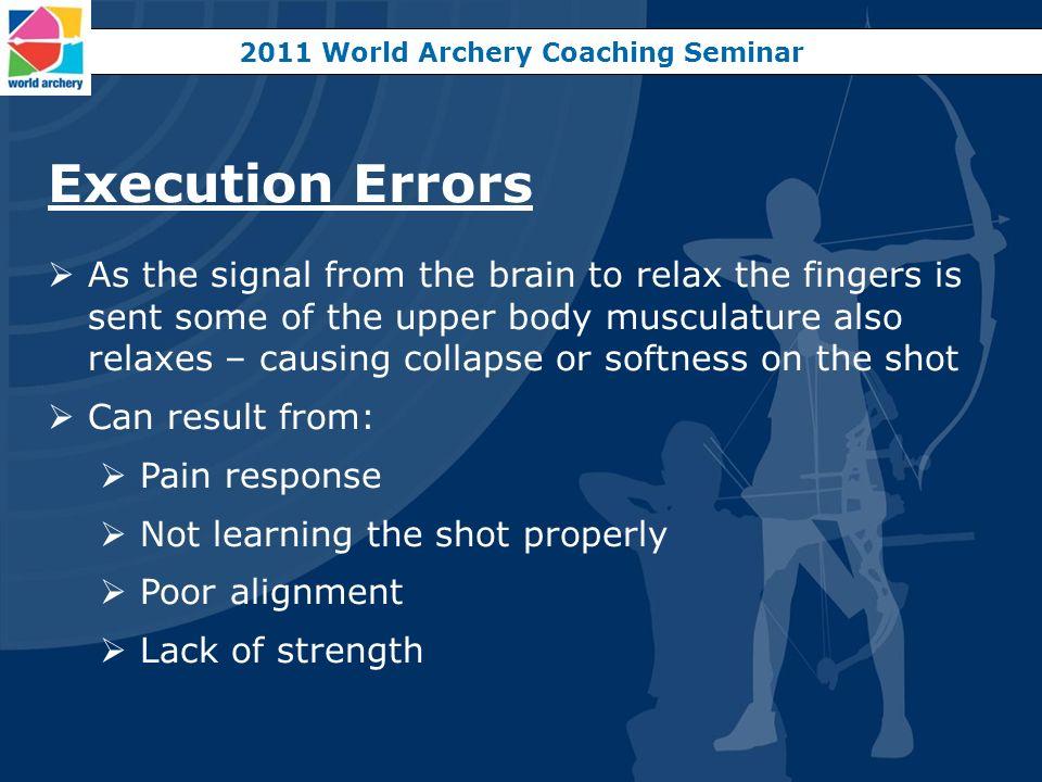 2011 World Archery Coaching Seminar