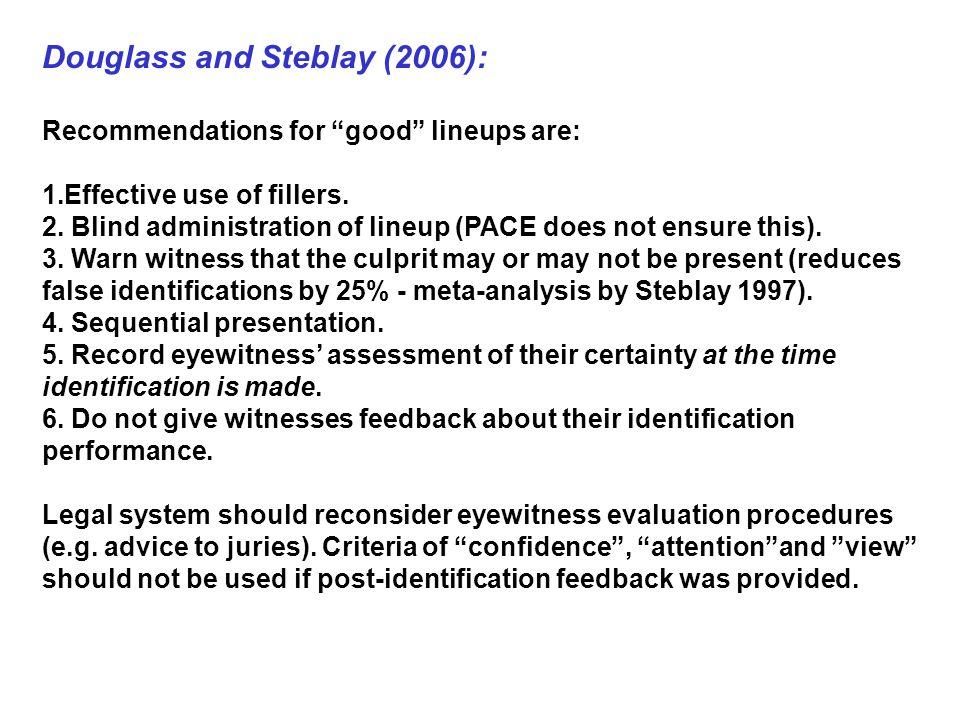 Douglass and Steblay (2006):