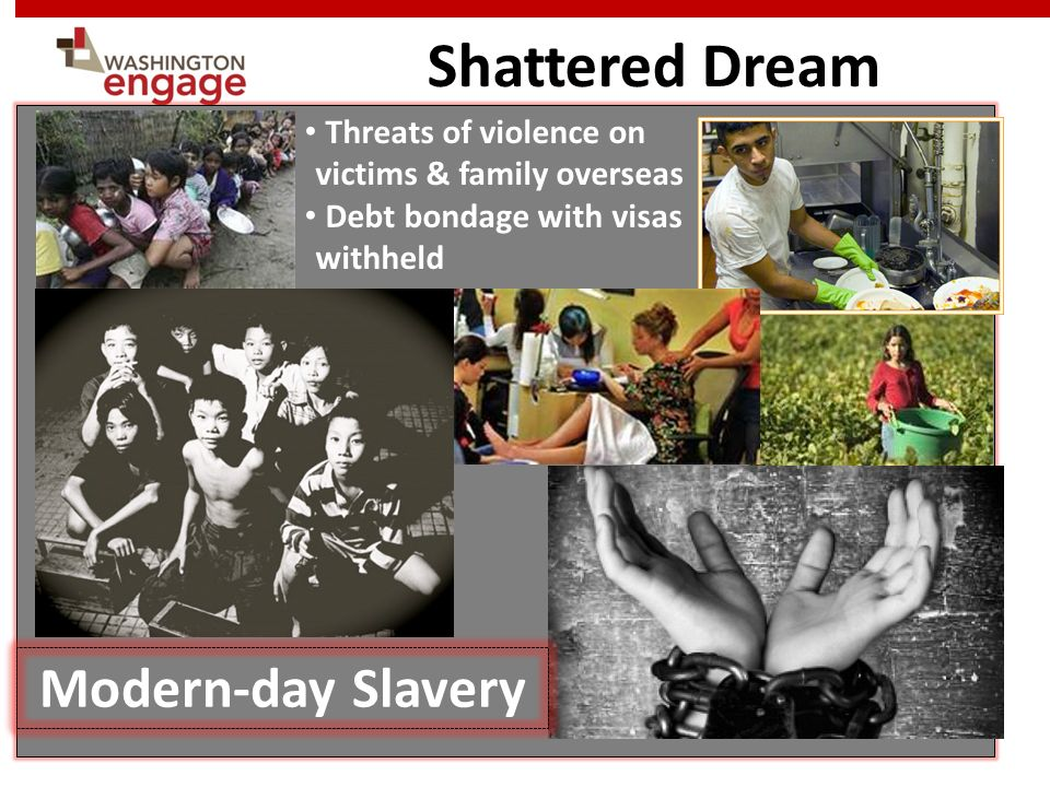 Shattered Dream Modern-day Slavery