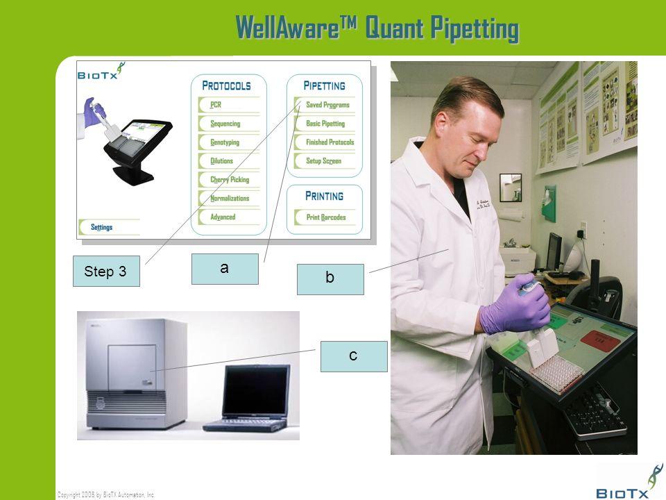 WellAware™ Quant Pipetting