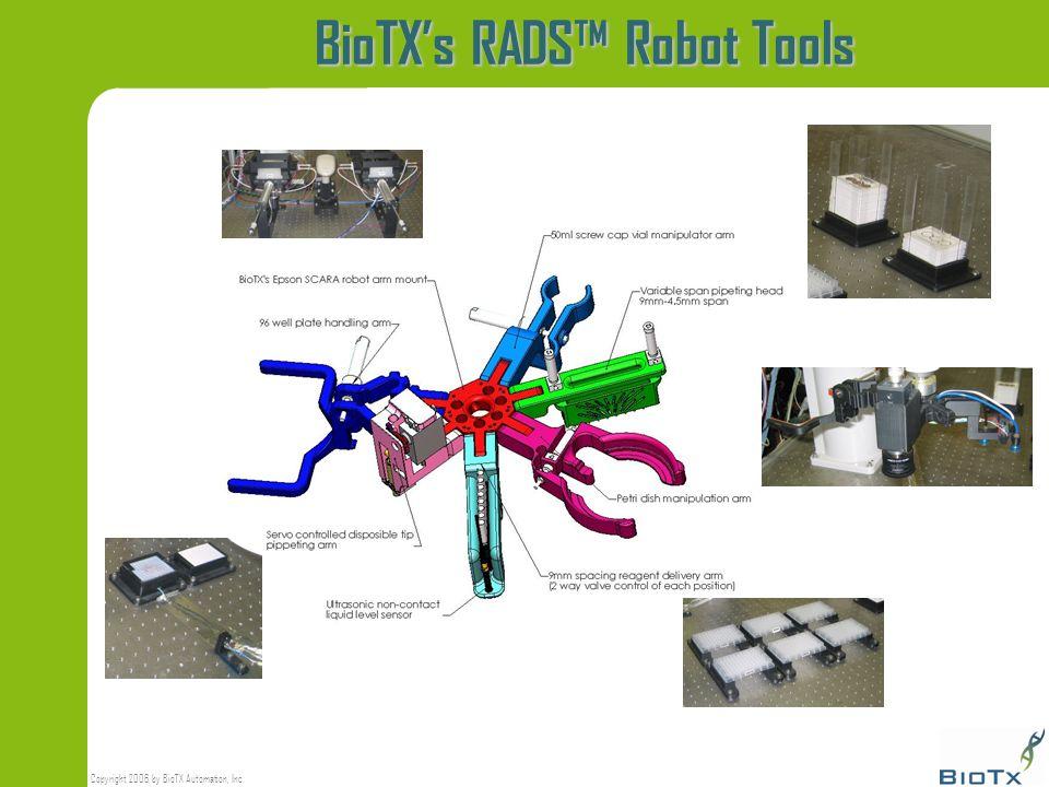BioTX's RADS™ Robot Tools