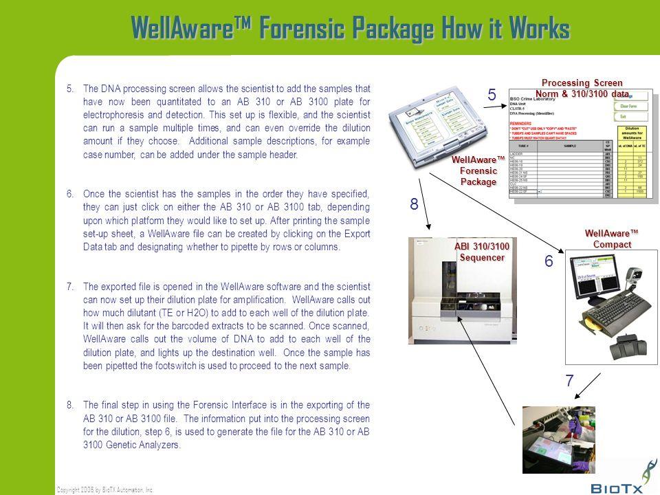 WellAware™ Forensic Package How it Works
