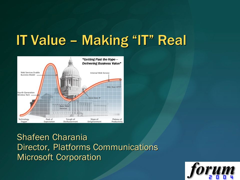 IT Value – Making IT Real