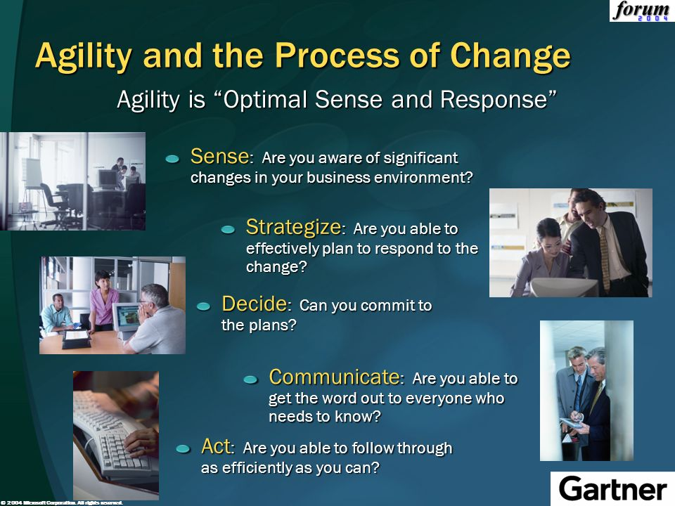 Agility and the Process of Change