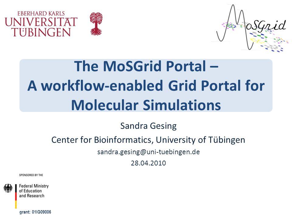 Center for Bioinformatics, University of Tübingen