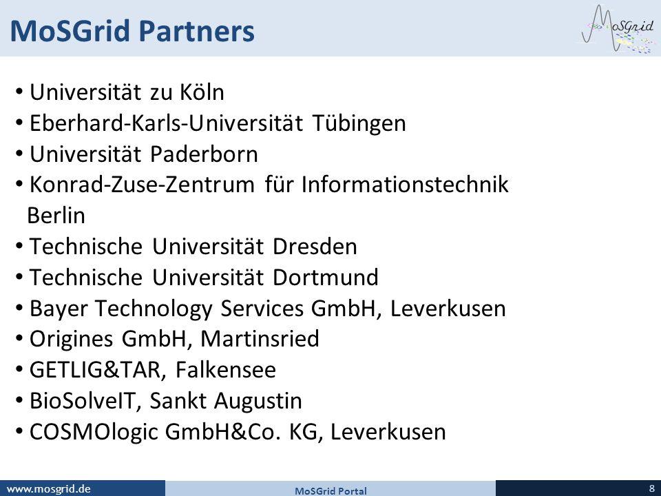 MoSGrid Partners Universität zu Köln