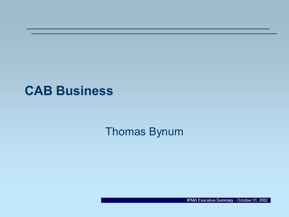 CAB Business Thomas Bynum