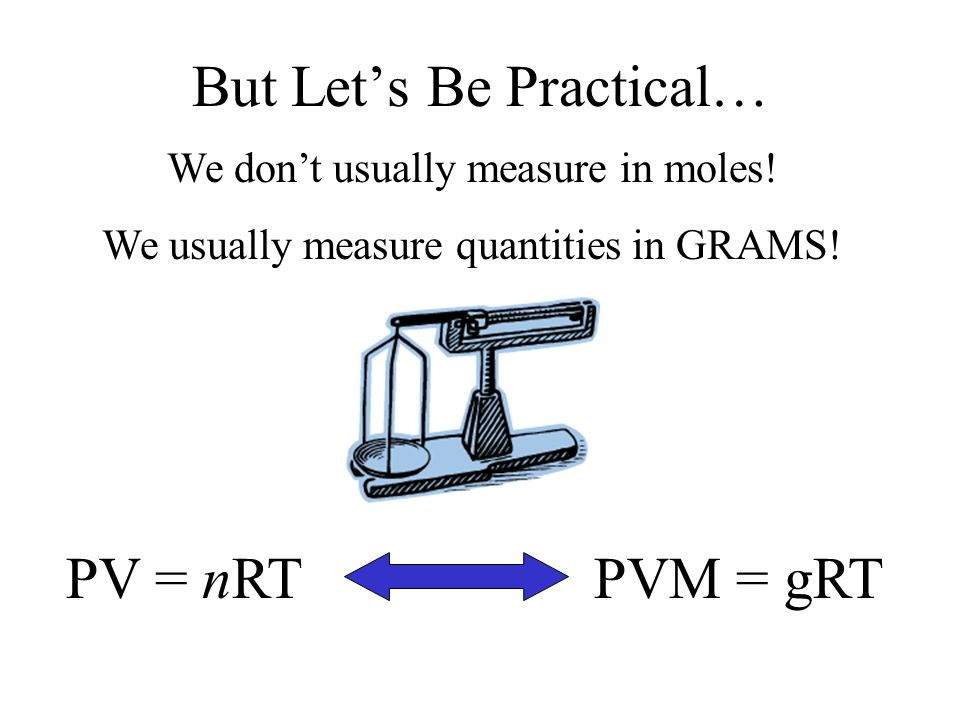 But Let's Be Practical…