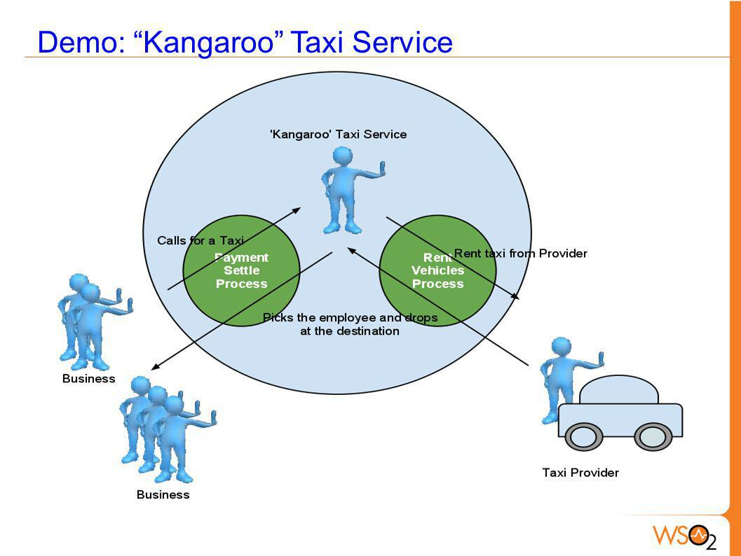 Demo: Kangaroo Taxi Service