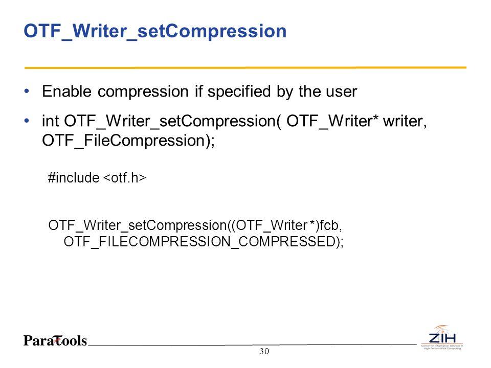 OTF_Writer_setCompression