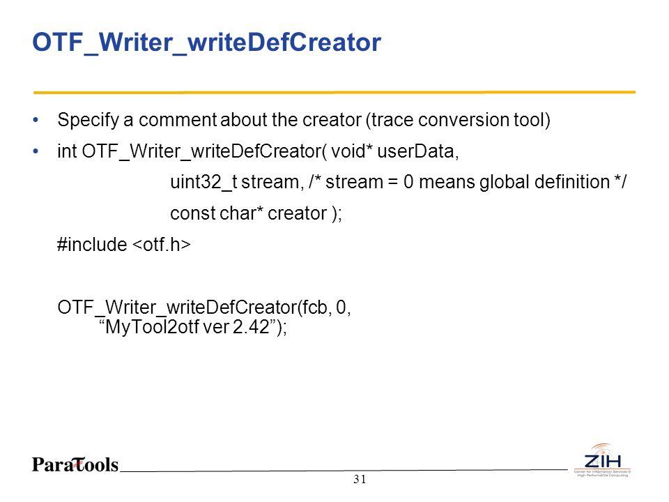 OTF_Writer_writeDefCreator