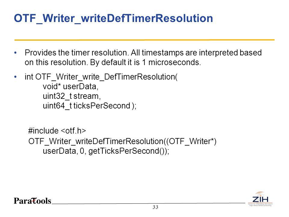 OTF_Writer_writeDefTimerResolution