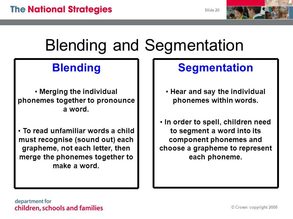 Blending and Segmentation