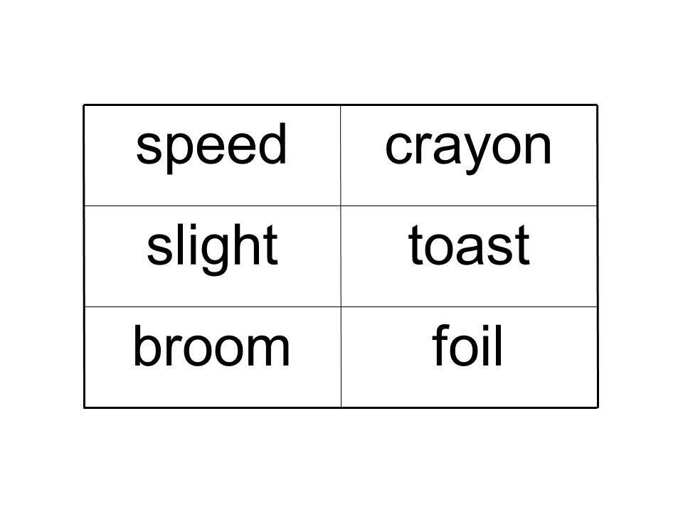 foil broom toast slight crayon speed 01/05/08
