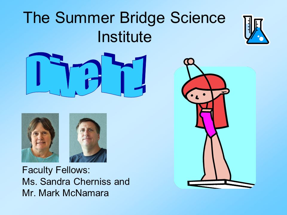 The Summer Bridge Science Institute