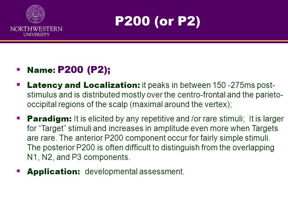 Application: developmental assessment.