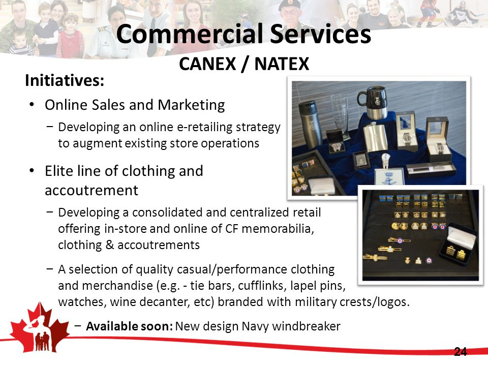 Commercial Services CANEX / NATEX