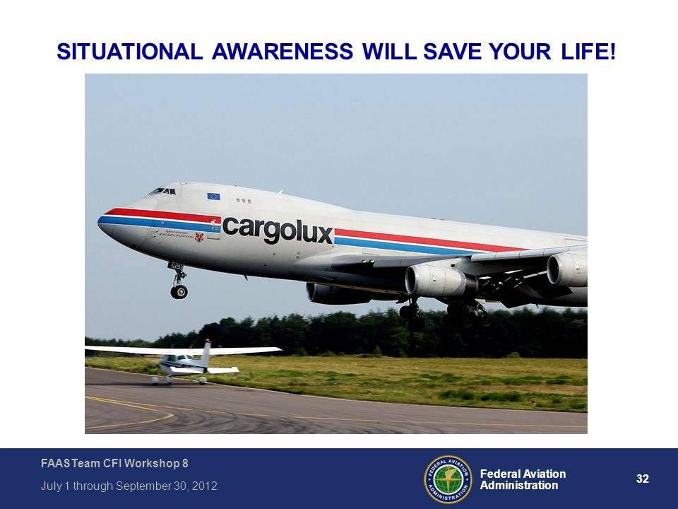 SITUATIONAL AWARENESS WILL SAVE YOUR LIFE!
