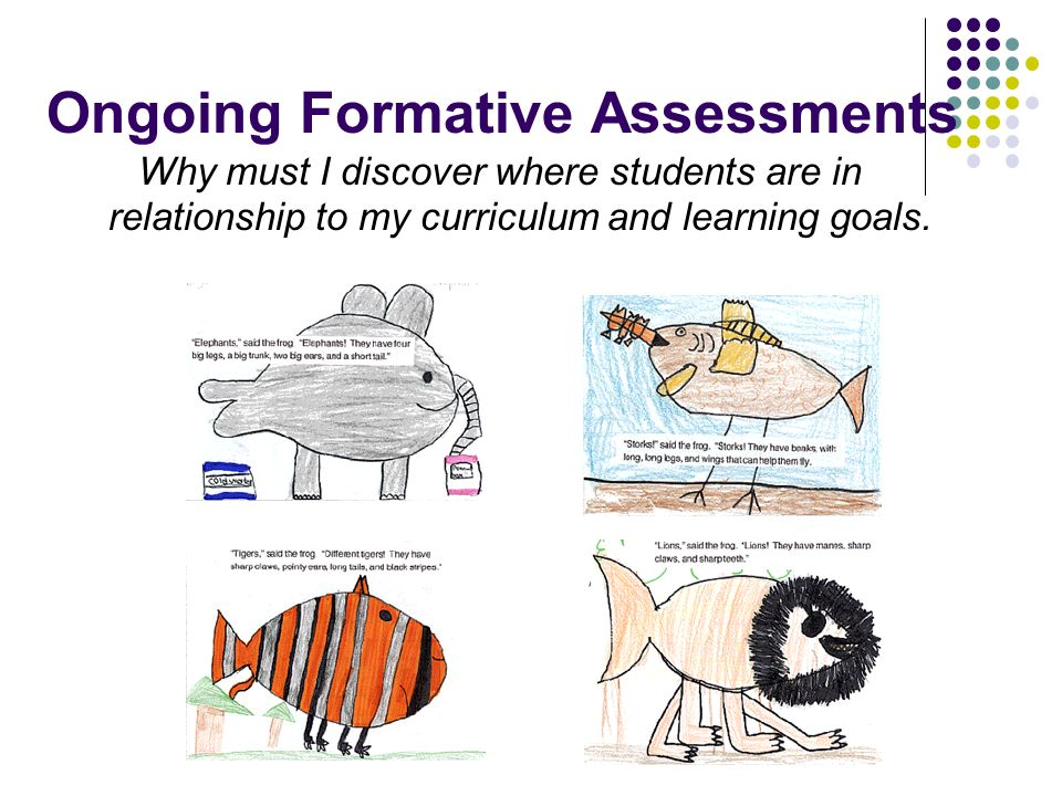 Ongoing Formative Assessments