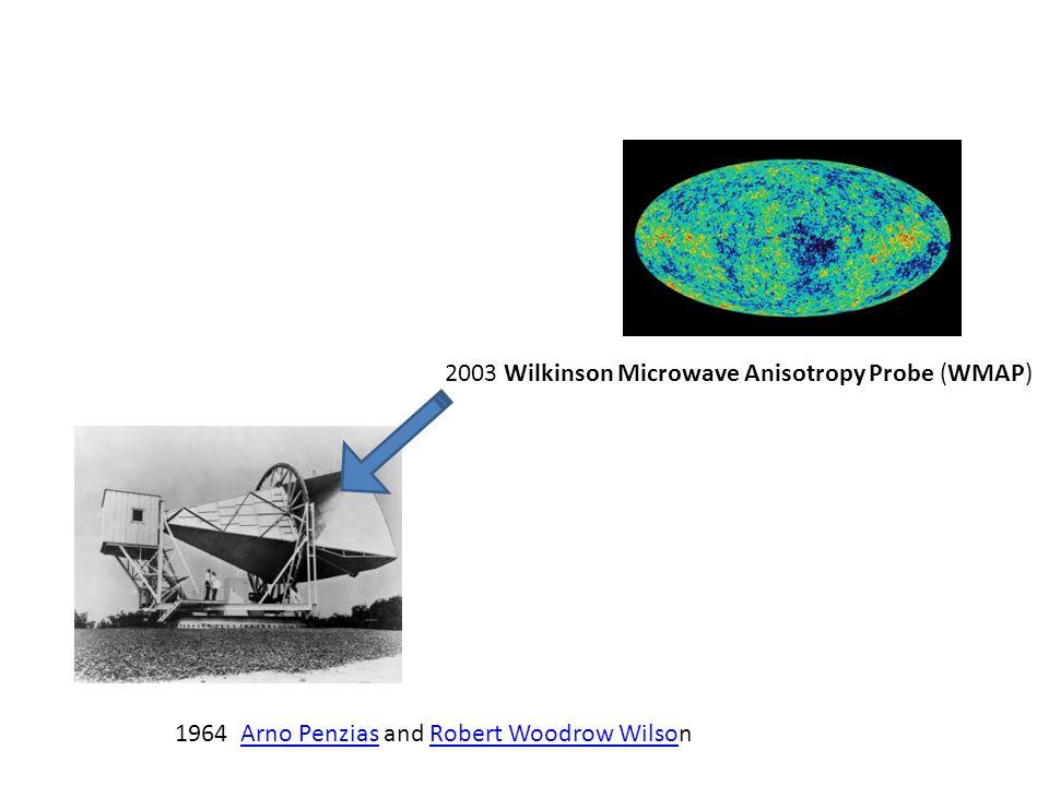 2003 Wilkinson Microwave Anisotropy Probe (WMAP)