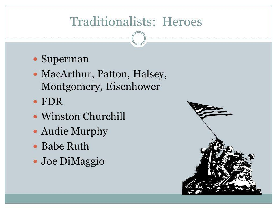Traditionalists: Heroes
