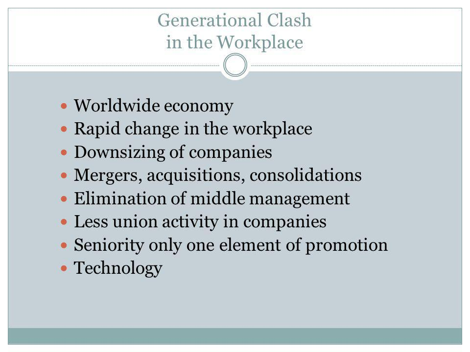 Generational Clash in the Workplace