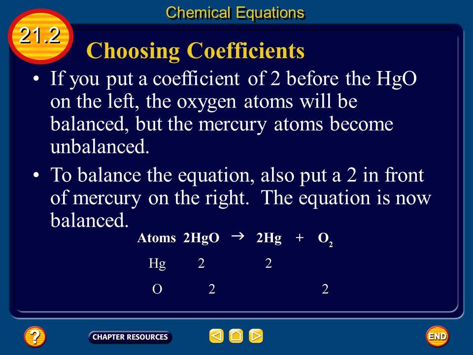 Choosing Coefficients