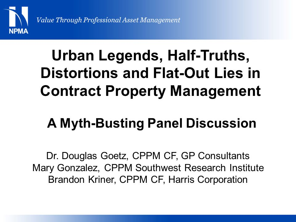 A Myth-Busting Panel Discussion
