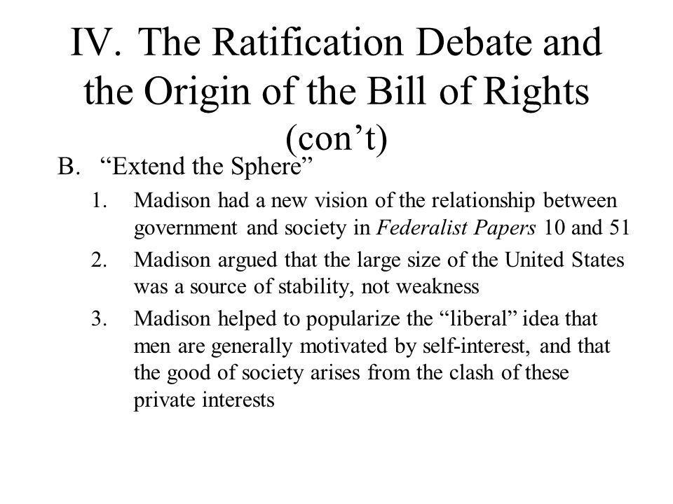relationship between the federalist papers and ratification