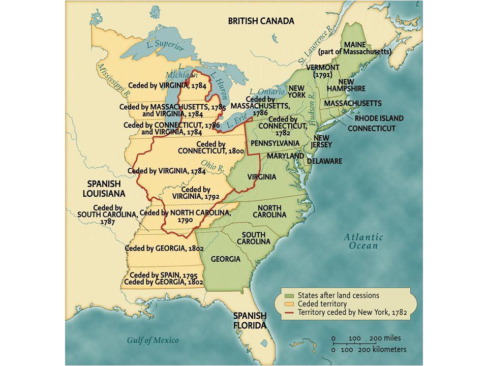 Western Lands, 1782–1802 • pg. 240 Western Lands, 1782–1802
