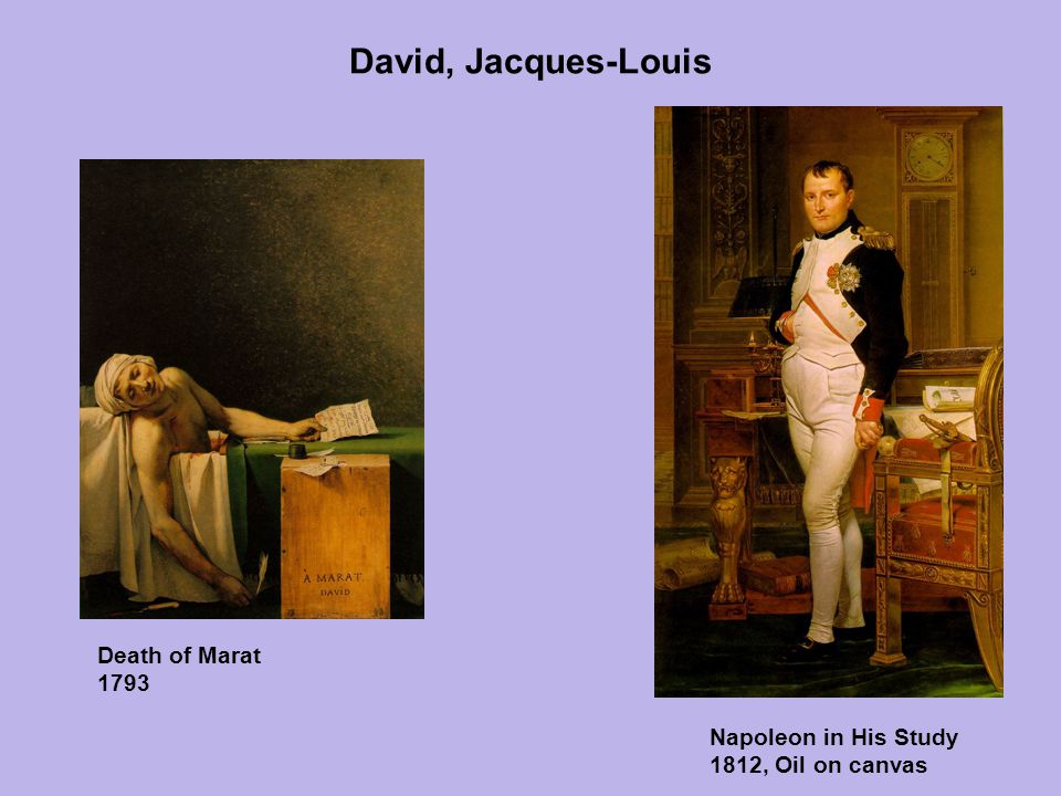 David, Jacques-Louis Death of Marat 1793