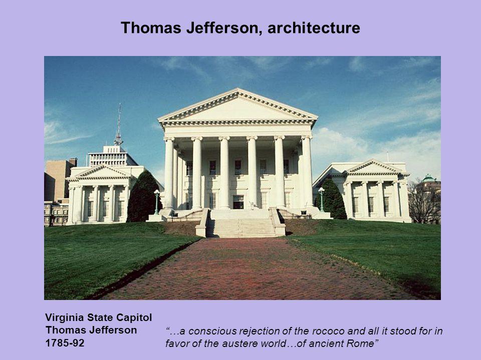 Thomas Jefferson, architecture
