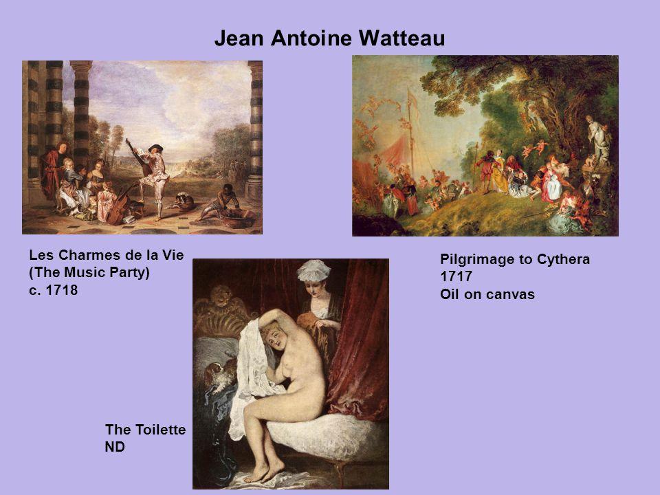 Jean Antoine Watteau Les Charmes de la Vie
