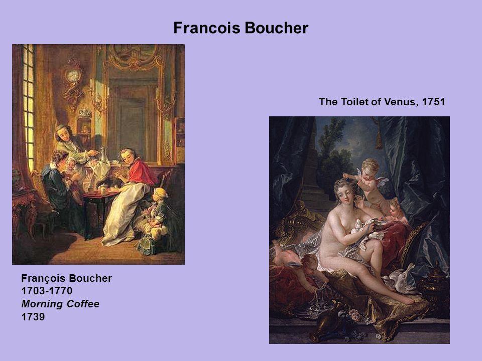 Francois Boucher The Toilet of Venus, 1751