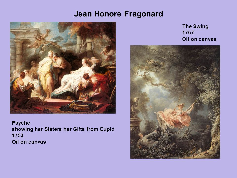 Jean Honore Fragonard The Swing 1767 Oil on canvas Psyche