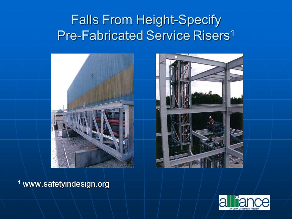 Falls From Height-Specify Pre-Fabricated Service Risers1