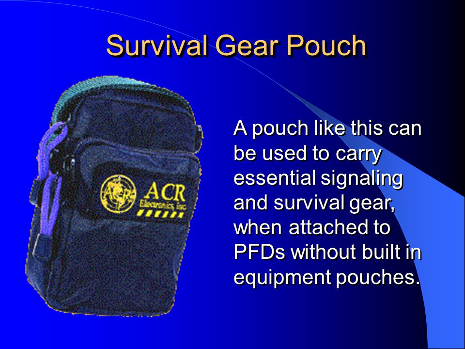 Survival Gear Pouch