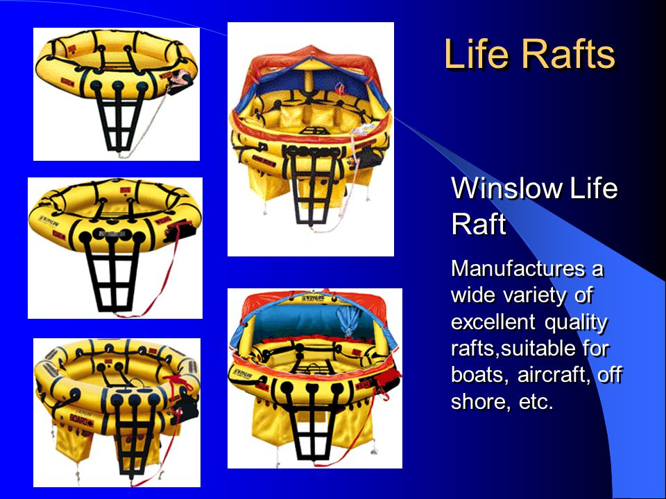 Life Rafts Winslow Life Raft