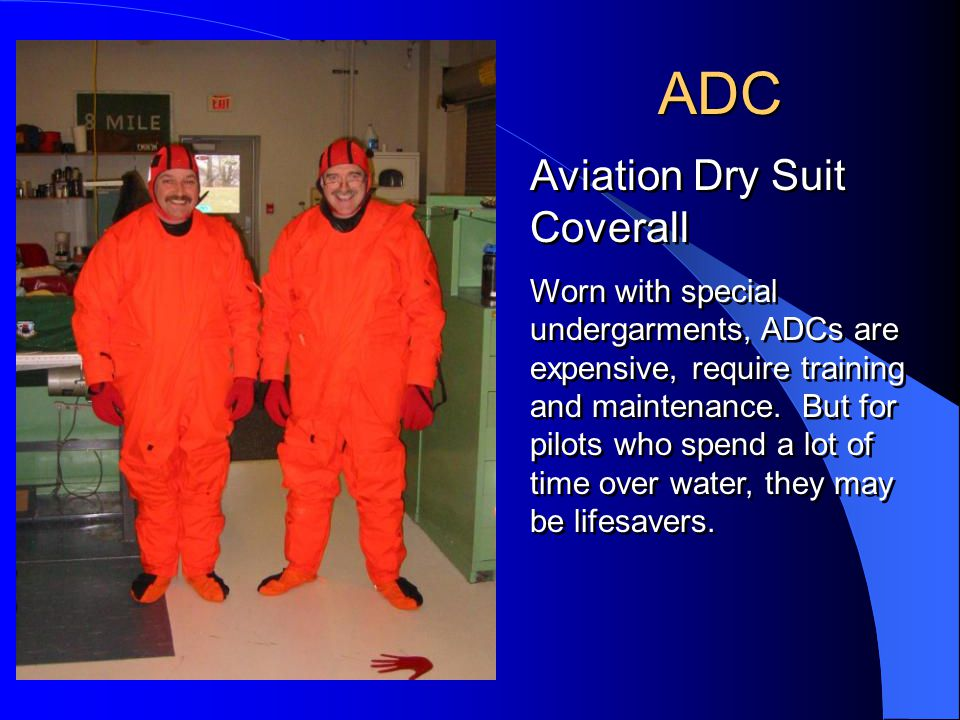 ADC Aviation Dry Suit Coverall