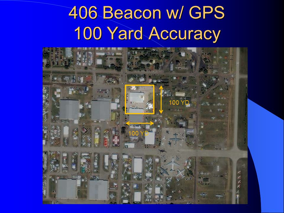 406 Beacon w/ GPS 100 Yard Accuracy