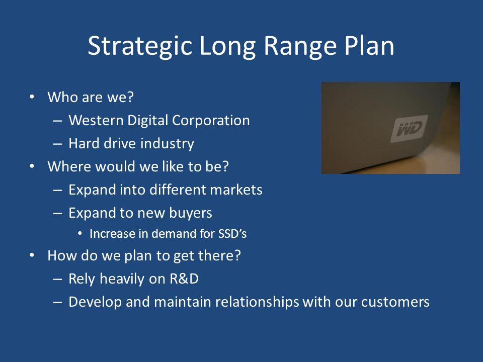 Strategic Long Range Plan