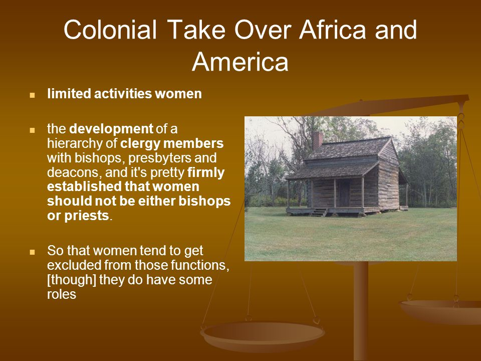 Colonial Take Over Africa and America